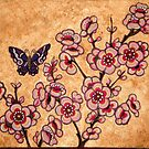 Bronze Cherry  by Magicat