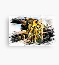 Saddle Up Canvas Print