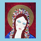 Mosaic - Mother Mary by Valerie  Fuqua