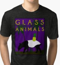 Glass Animals Tapir Tri-blend T-Shirt