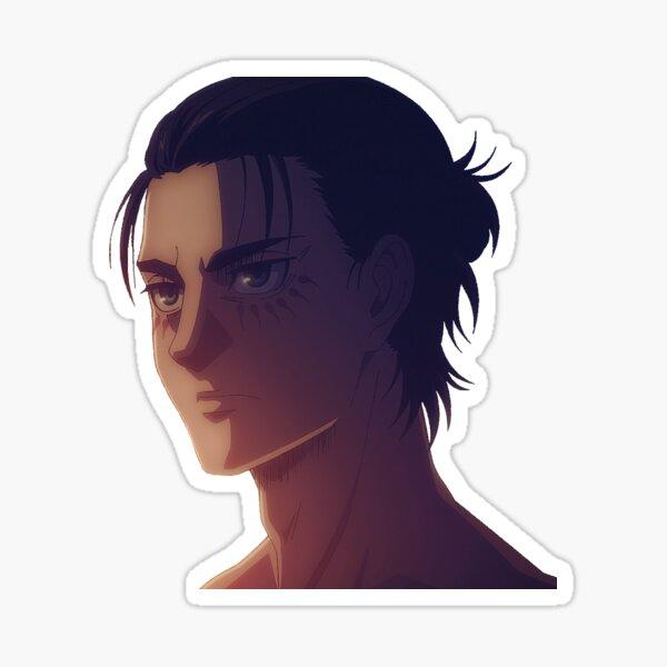 Manbun Eren Yeager Sticker