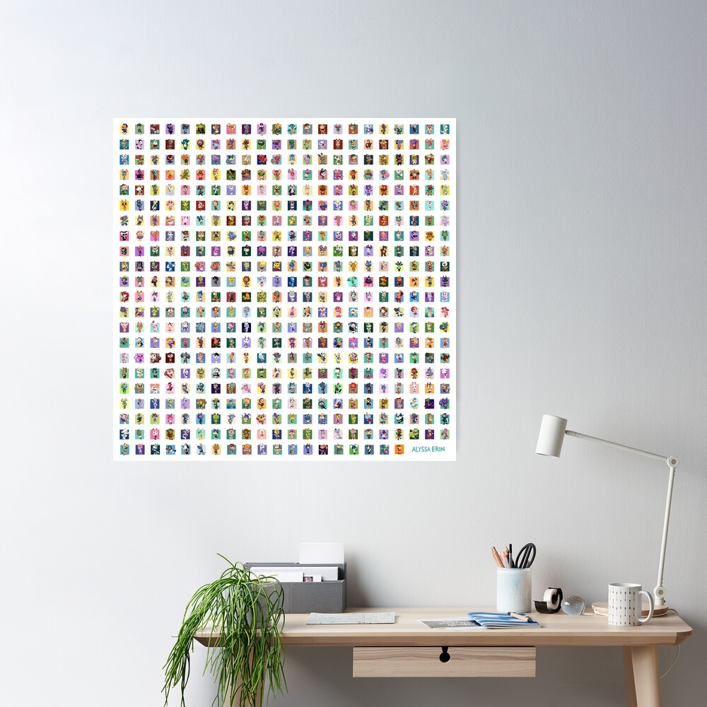 480 villagers Poster