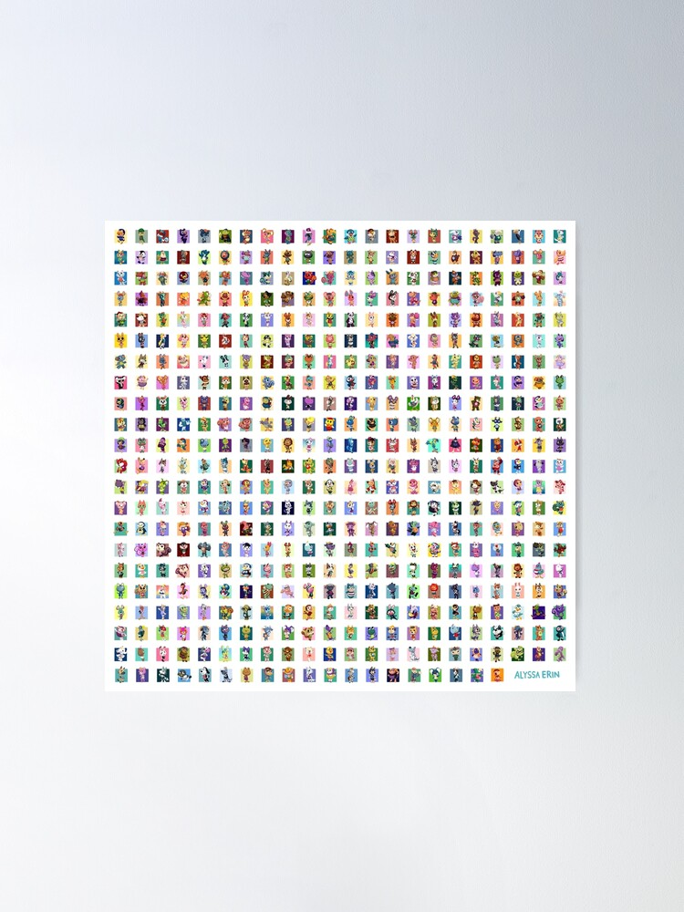 Alternate view of 480 villagers Poster