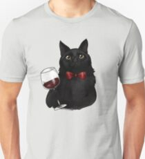 Wine Cat T-Shirt