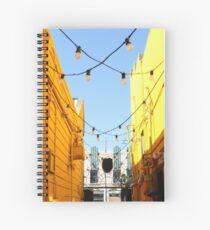 Yellow Walls, Blue Sky Spiral Notebook