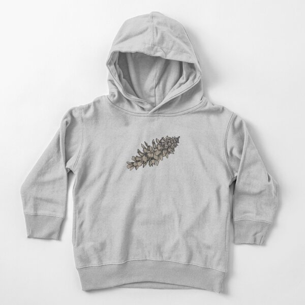 Pine Cone Toddler Pullover Hoodie