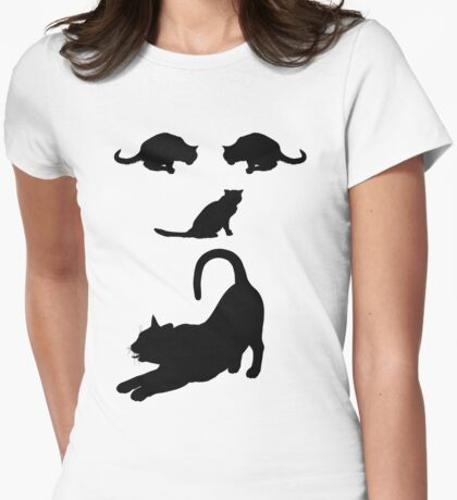 Funny Cats Face - Cute cats T-Shirt