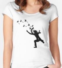 Dandelions Are Fun! Women's Fitted Scoop T-Shirt