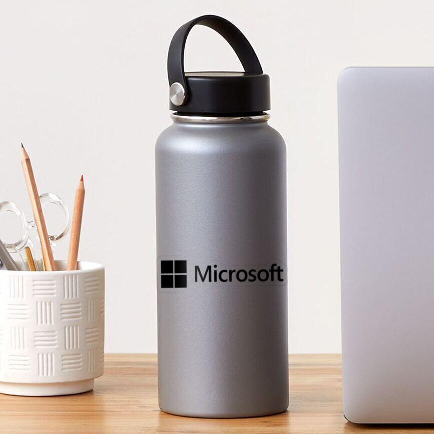COMPUTER-Microsoft LOGO Sticker