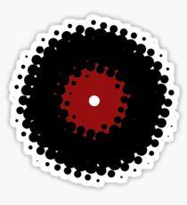 Vinyl Records Retro Vintage 50's Style Sticker