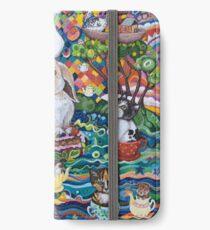 Ocean tea-party iPhone Wallet/Case/Skin