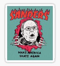 bernie sanders thrasher Sticker