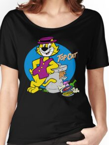 Stylish Cat Women's Relaxed Fit T-Shirt