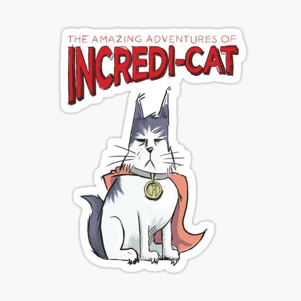 Incredi-Cat Sticker