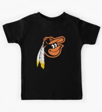 Redskins Orioles Kids Tee