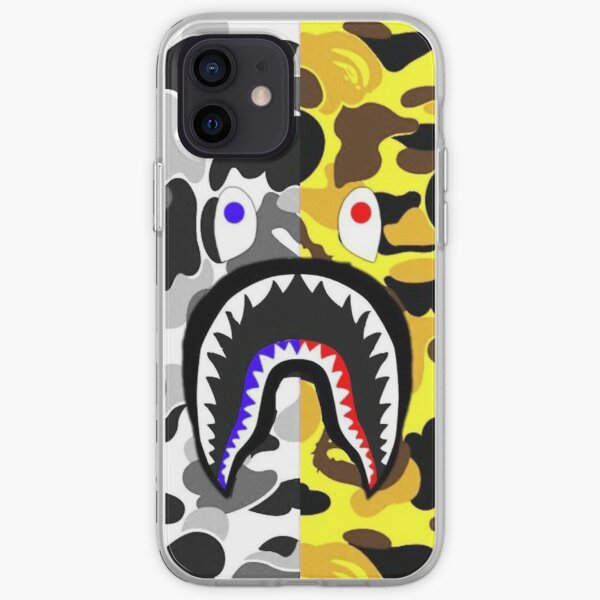 shark army merry black iPhone Soft Case