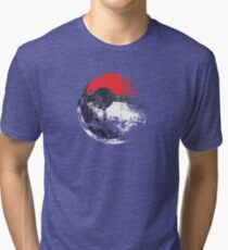 Pokeball Death Star Tri-blend T-Shirt