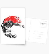 Pokeball Death Star Postcards