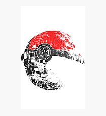 Pokeball Death Star Photographic Print