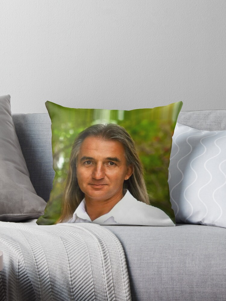 'Braco - Gaze of Miracles' Throw Pillow by ANDThreads