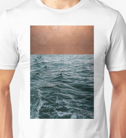 Ocean + Copper #redbubble #lifestyle T-Shirt