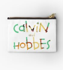 calvin and hobbes font Studio Pouch