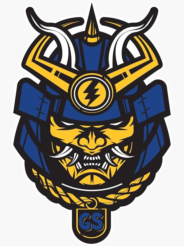 GOLDEN STATE SAMURAI BASKETBALL by OrganicGraphic