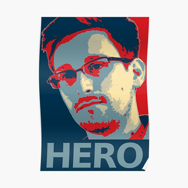 Snowden Hero Poster