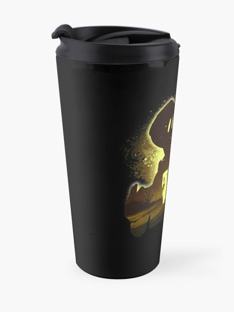 Alternate view of Black Mage Friend Travel Mug