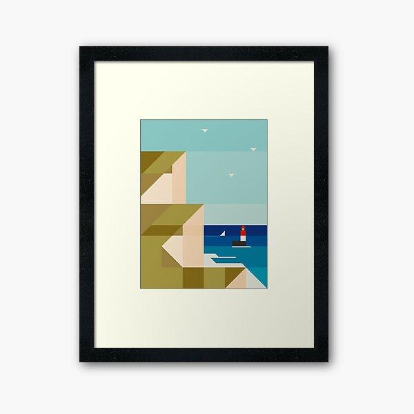 Seacliffs Framed Art Print