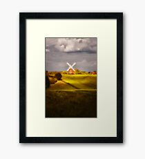 The Mill on the Hill Framed Print