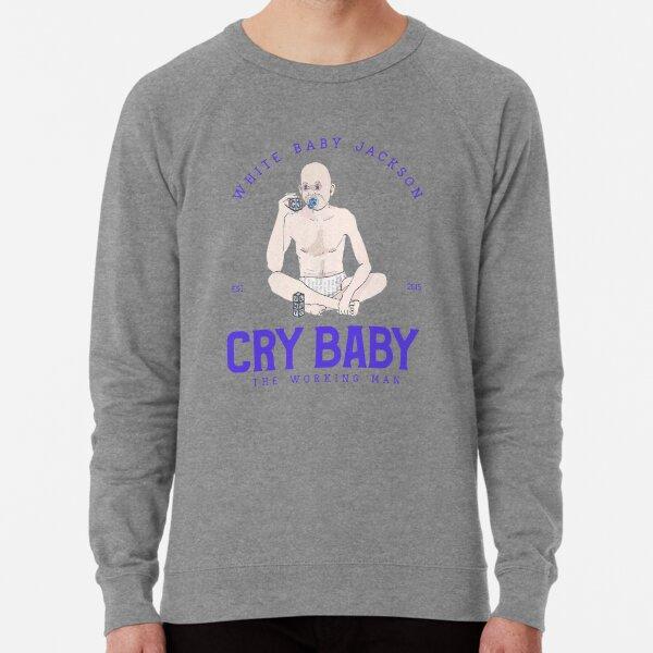 White Baby Jackson Lightweight Sweatshirt