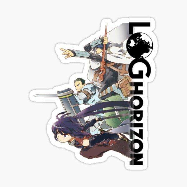 Log Horizon Stickers Redbubble