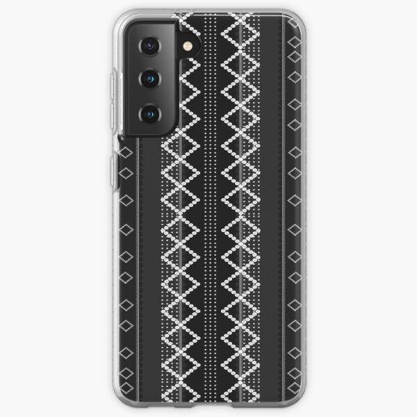 LaFara Stitches Decoration 2 Samsung Galaxy Soft Case
