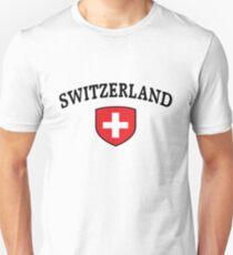 Switzerland Supporters Unisex T-Shirt