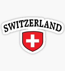 Switzerland Supporters Sticker