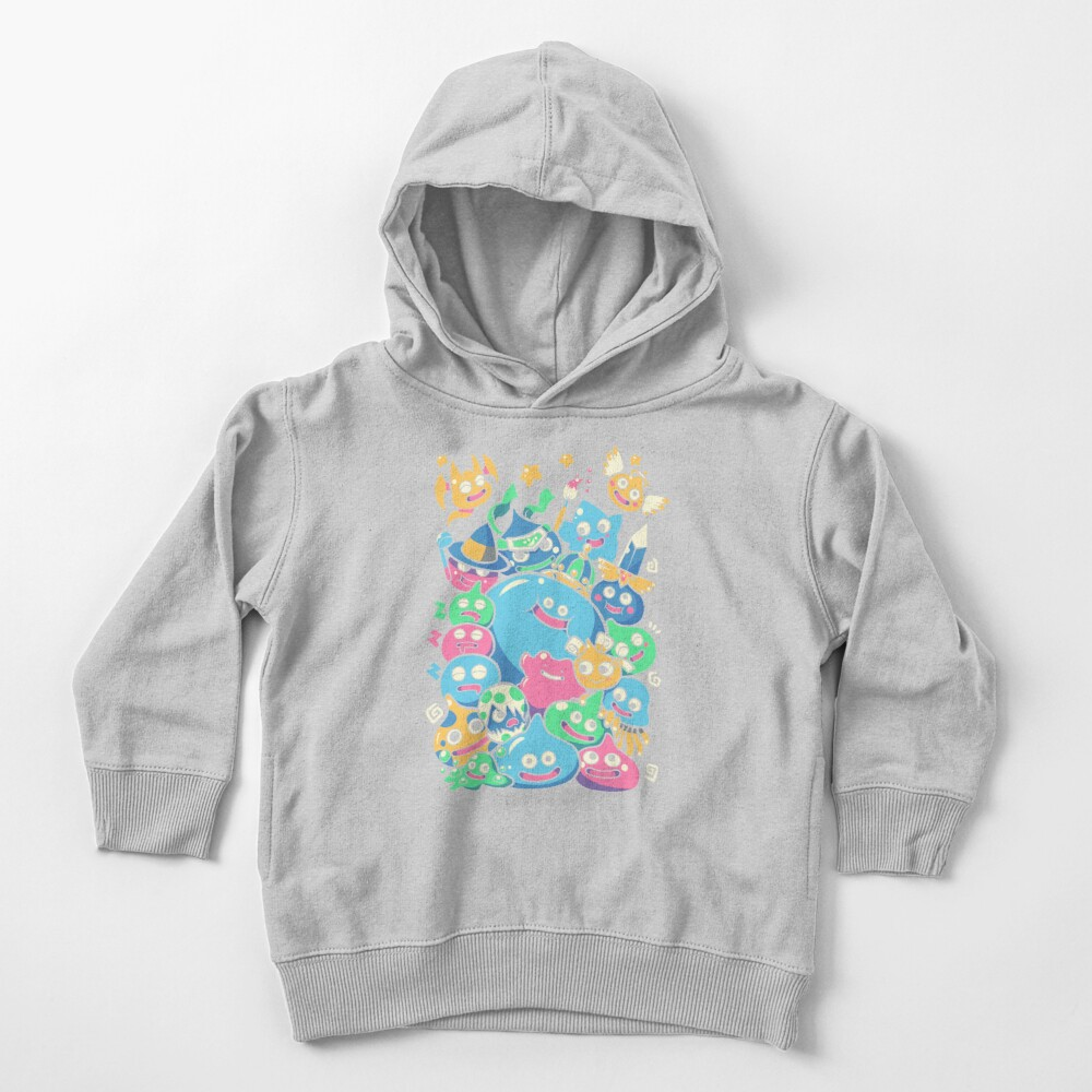 Slime Party!  Toddler Pullover Hoodie