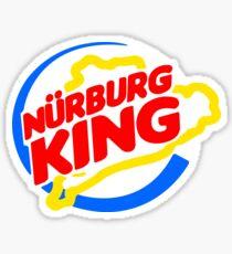 Pegatina Rey de Nurburg