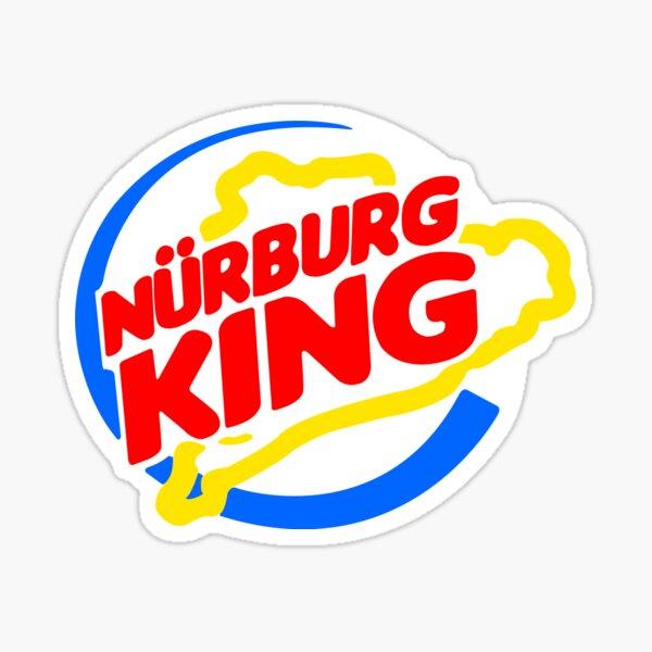 Nurburg King Sticker