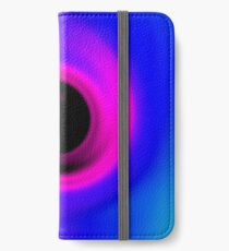 Abstract swirling black hole iPhone Wallet/Case/Skin