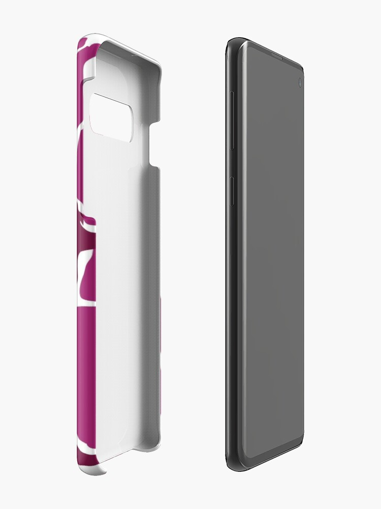 Alternate view of Orchards in Pink Case & Skin for Samsung Galaxy