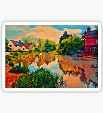 COUNTRY COTTAGES 1D Sticker