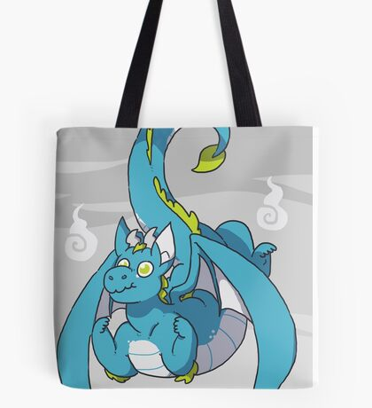 Fiery dragon Tote Bag