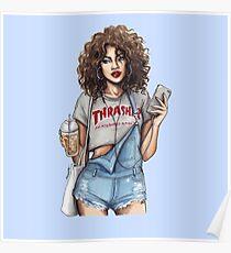 Thrasher Girl Poster