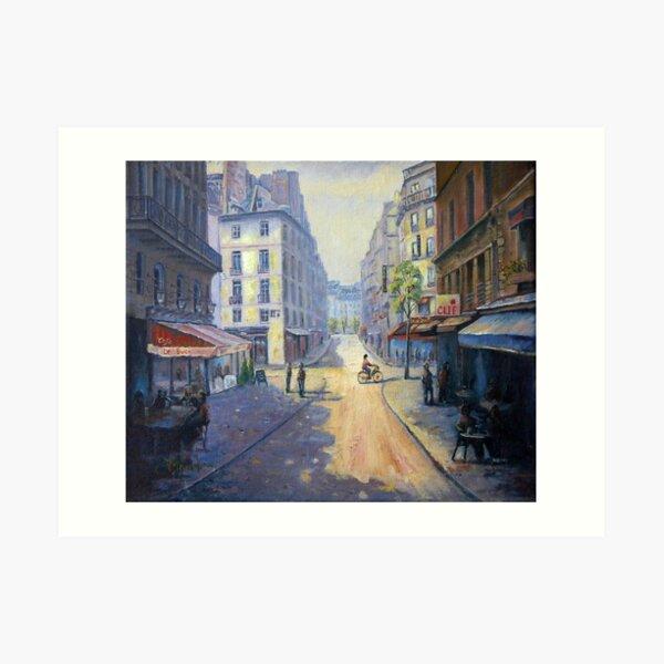 Rue Mazarin, Paris, France Art Print