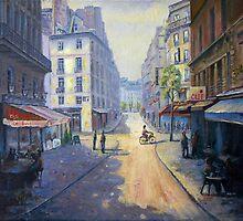 Rue Mazarin, Paris, France by marshstudio