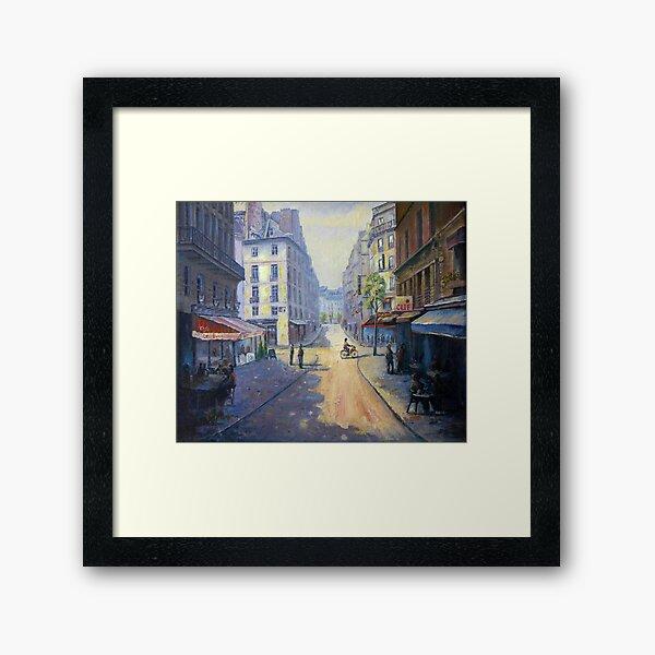 Rue Mazarin, Paris, France Framed Art Print