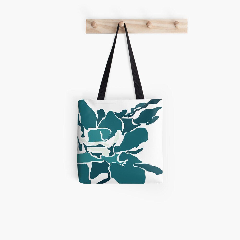 Orchards 2 in Teal Tote Bag