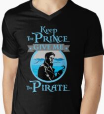 Keep The Prince, I'll Take The Pirate Men's V-Neck T-Shirt