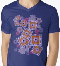 Mixture of Roses and Other Flowers Men's V-Neck T-Shirt